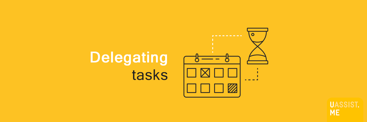 Delegating tasks - Banner