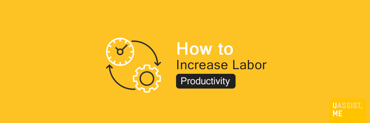 How to increase labor productivity - Banner